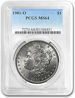 1901 O Morgan Silver Dollar $1 MS64 PCGS