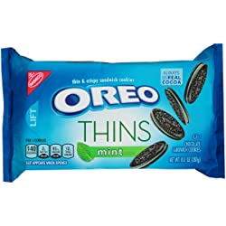 Oreo Thins Mint Sandwich Cookies (10.1-Ounce Package)