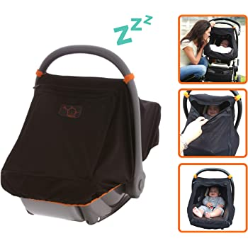 Amazon Com Universal Infant Car Seat Sun Cover Unisex Mesh Baby Car Seat Canopy Blocks 99 Of Uv Peekaboo Window Gives 360 Degree Protection Automotive