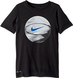 Nike Kids Dry Photo Basketball Tee (Little Kids/Big Kids)