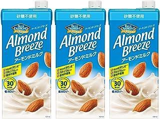 アーモンド・ブリーズ 砂糖不使用 1L×3本