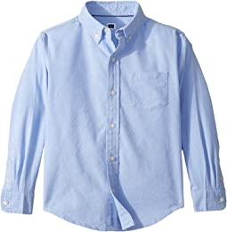 Long Sleeve Oxford Button-Up Shirt (Toddler/Little Kids/Big Kids)