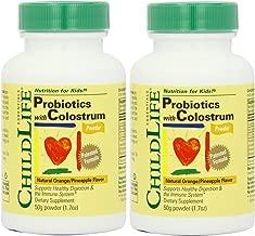 Best childlife colostrum powder with probiotics Reviews