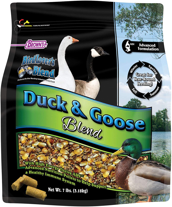FM Browns Bird Lover's Blend Duck & Goose Blend Dry Food, 7 lbs.