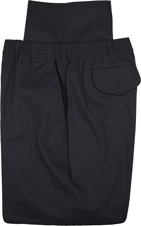 Falcon Bay Big Tall Men's Casual Twill Regular discount Wais High order Pants Full Elastic