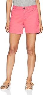 """Amazon Essentials Women's 5"""" Inseam Solid Chino Short"""