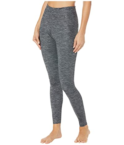 Nike One Luxe Heather Tights (Black/Clear) Women