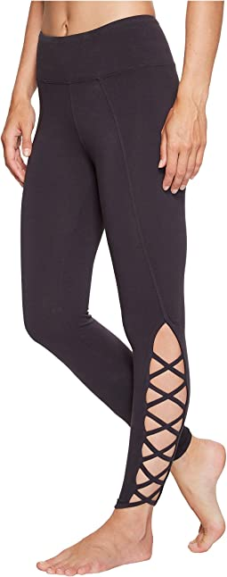 X-Side Ankle Leggings