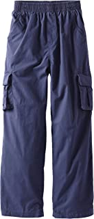 Wes and Willy Big Boys' Cargo Pant with Full Elastic Waist
