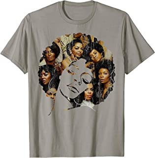 Strong Afro Black Women Shirt - Melanin Poppin Men Women Tee