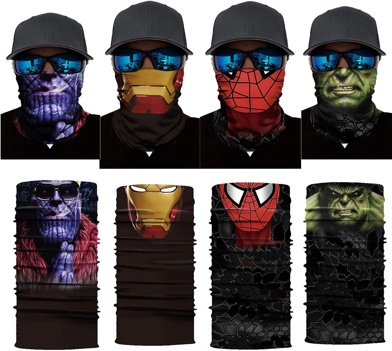 Jim Carrey THE MASK Winter Face Mask Bandanas Headband Multi Headwear Scarf