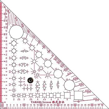 テンプレート 三角定規 建築士 設計 製図