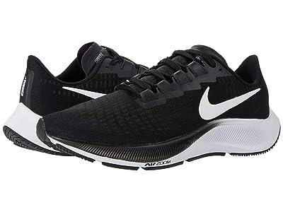 Nike Air Zoom Pegasus 37 (Black/White) Men