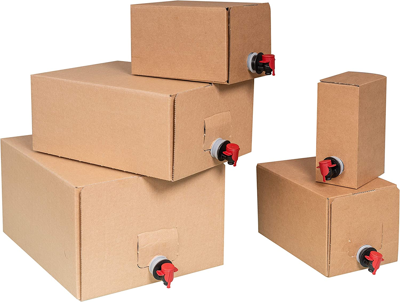 1.5L 5L Bag-in-box sets 10L and 20L 3L 10.3L box and bag