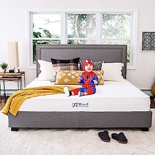 Sunrising Bedding 10 Inch Natural Latex Hybrid Queen Mattress, Gel Memory Foam, Encased Pocket Coils, Medium Firm, Sleeps ...