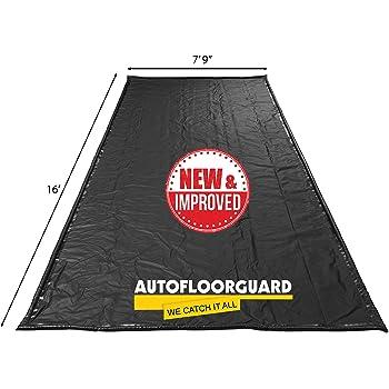 """AutoFloorGuard AFG7916 Black 7'9"""" x 16' AFG Compact Size Containment mat"""