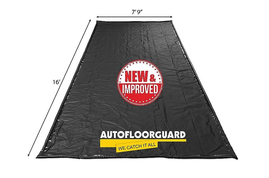 AutoFloorGuard AFGS-7916 Black 7'9