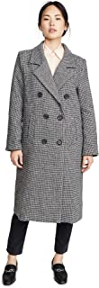 Women's Vernon Double Breasted Menswear Inspired Coat