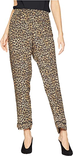 Leopard Print PJ Pants