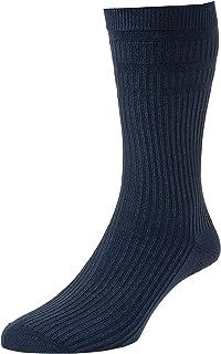 2 Pack HJ Hall Softop HJ191 The Original Cotton Rich Non Elastic Socks