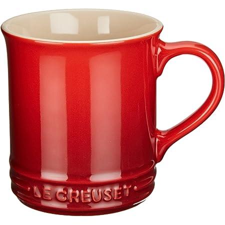 Le Creuset Stoneware Yellow Coffee Mug Ombré Fade 12 oz Cup