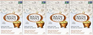 Shea Butter - South of France Natural Body Care Triple Milled Large 6OZ Bar Soap (4 Bars)