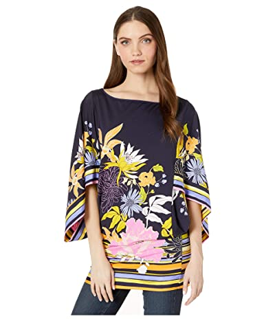 Trina Turk Bal Harbour Floral Tunic Top (Multi) Women