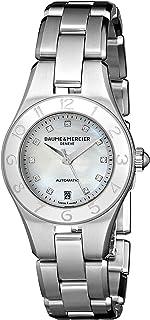 Baume & Mercier - Baume and Mercier 10113 - Reloj de pulsera para mujer (esfera de acero con diamantes, madreperla)