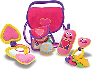 Melissa & Doug Pretty Purse Fill & Spill Soft Play Set (Toddler Toy, Great Gift for Girls and Boys - Best for Babies, 18 Month Olds, 24 Month Olds, 1 and 2 Year Olds )