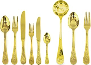 Mepra 39-Piece Diana Oro Serving Set
