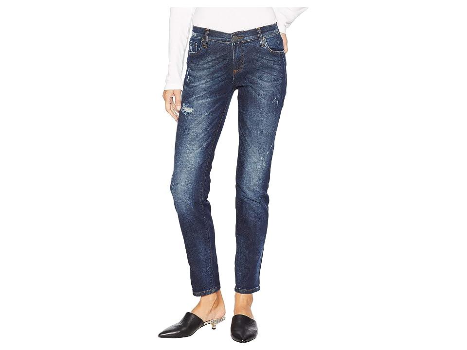 KUT from the Kloth Catherine Slouchy Boyfriend Jeans in Exalt (Exalt/Dark Stone Base Wash) Women