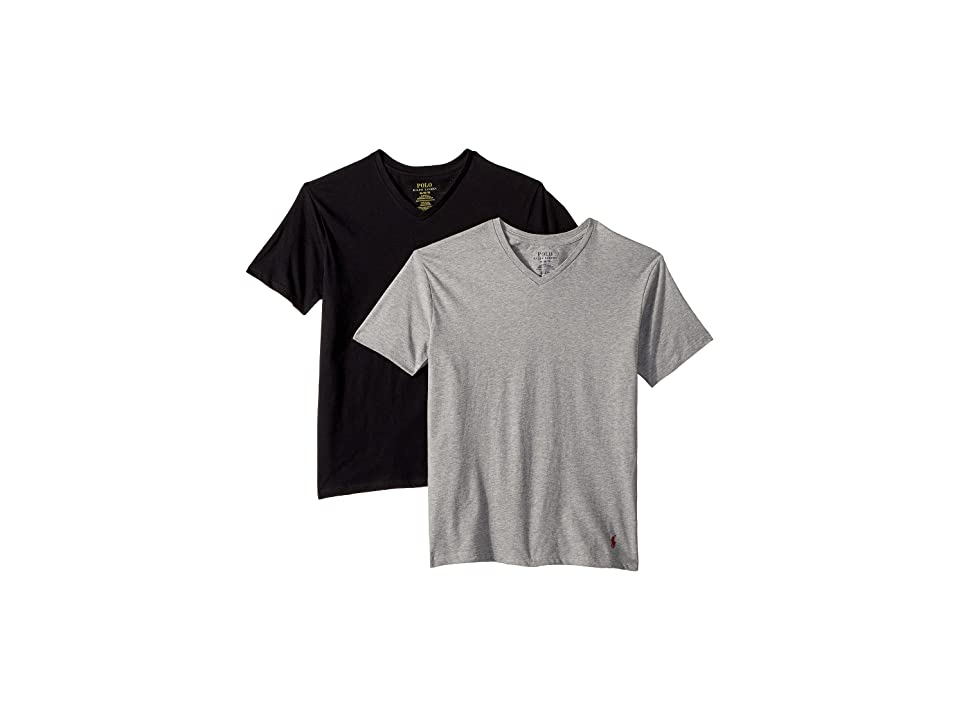 Polo Ralph Lauren Kids - Polo Ralph Lauren Kids 2-Pack V-Neck Tee
