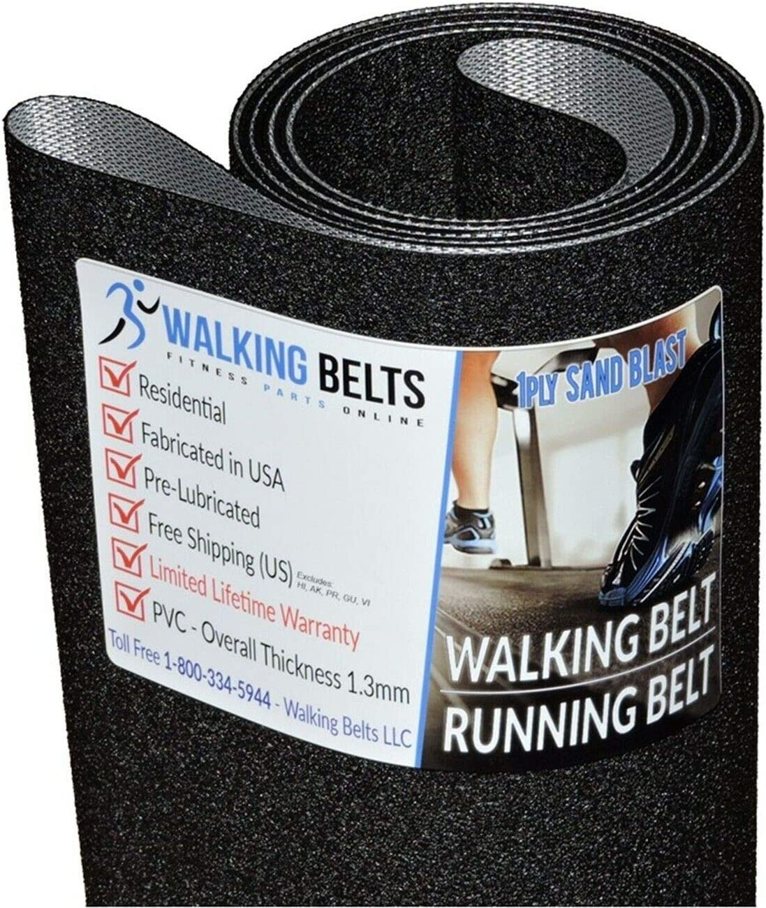 Super sale period limited WALKINGBELTS Walking Belts LLC - List price ProForm PETL797141 Endurance S7