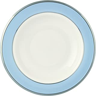 Lenox Blue Frost Platinum Banded Ivory China Pasta Bowl/Rim Soup