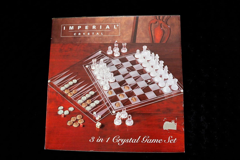 3 in 1 Crystal Game Set