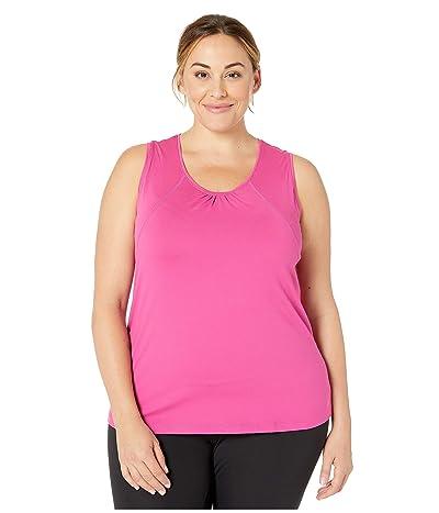 Skirt Sports Plus Size Breakaway Tank Top (Razz) Women