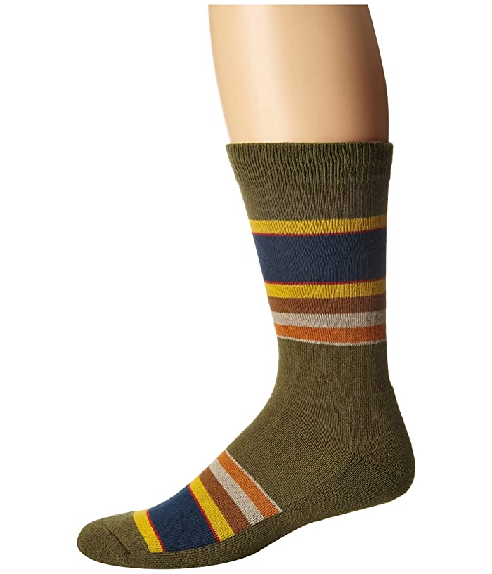 Badlands Stripe  Shoes (Beige) Crew Cut Socks Shoes