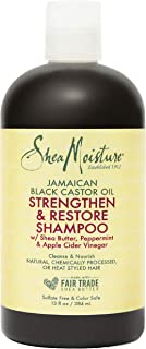Shea Moisture Jamaican Black Castor Oil Strengthen and Restore Shampoo, 384 ml