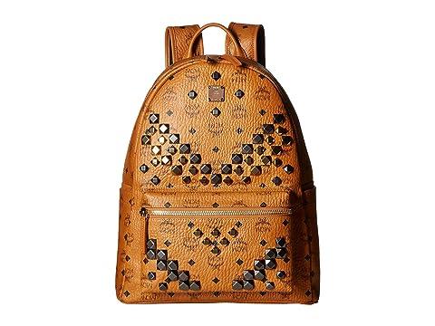 MCM Stark M Stud Medium Backpack