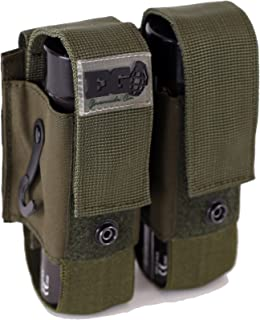 EnolaGaye Deuce Pouch for Molle Combat Systems - WP40 & BWP Grenade Carrier
