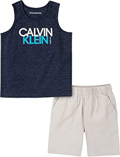 Baby Boys' 2 Pieces Muscle Shorts Set