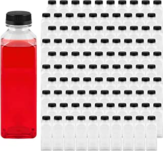 Sponsored Ad - Takeout Depot - 16 oz Plastic Bottles with Caps (100 Pack) - Perfect for Your Water, Juice or Smoothie - 16...