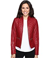 Kenneth Cole New York - Quilted Rebel Jacket
