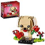 レゴ ブリックヘッズ バレンタインの子犬 40349