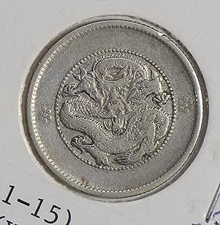 1911 CN C0321 China 20 Cents ~5 Yunnan silver DE PO-01