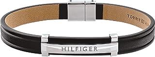 Tommy Hilfiger Jewelry Men Strand Bracelet 2790161,Black