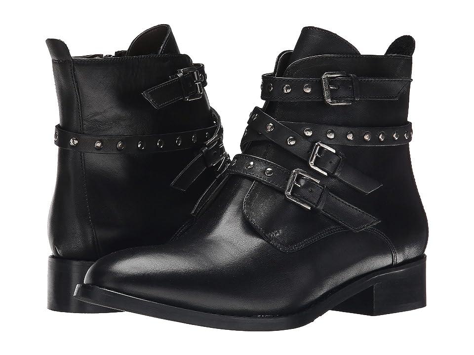 Bella-Vita Mod-Italy (Black Leather) Women