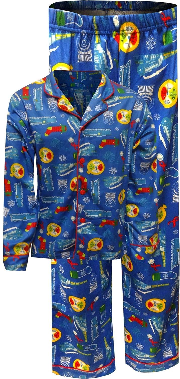 Polar Express Traditional Adult Pajamas for men