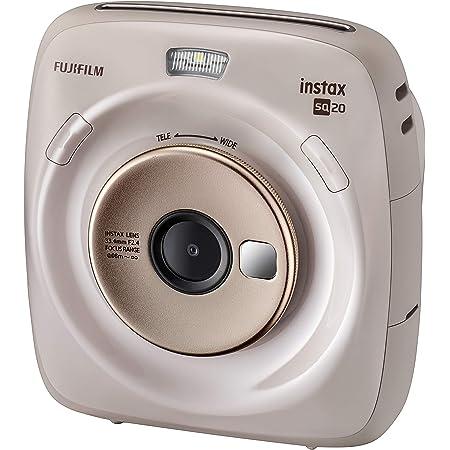 Fujifilm Instax Square SQ20 Beige Appareil photo Instantané, Beige
