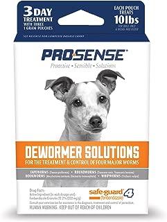 Excel Pro-Sense Dog Dewormer Solutions Safe-Guard 1 Gram, 3 ct